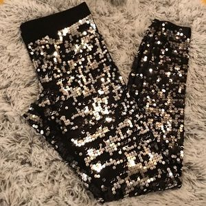 EXPRESS Sequence leggings